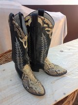 Cowboy Boots Leather Snake Skin Look in Ramstein, Germany