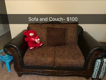 Sofa and couch in Fort Campbell, Kentucky