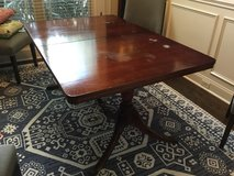 1940s Antique Duncan Phyfe Mahogany Dining Table in Byron, Georgia