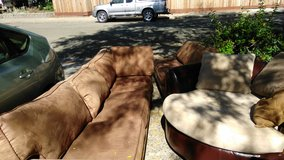 Sectional couch and chairs in Vacaville, California