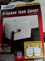 Double Propane Tank Cover in Vacaville, California