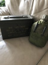 Military Ammo Can and Canteen in Perry, Georgia