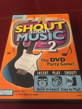 SHOUT ABOUT MUSIC - THE DVD PARTY GAME in St. Charles, Illinois