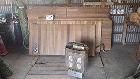Cedar Sauna Modular Kit 6'x8' in Alamogordo, New Mexico