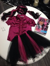 Monsters High Draculaura Costume size 5 6 7 8 in Clarksville, Tennessee