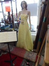 EVENING DRESS - YELLOW in Cherry Point, North Carolina