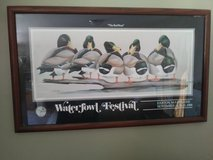 Nice painting of mallards in Wilmington, North Carolina