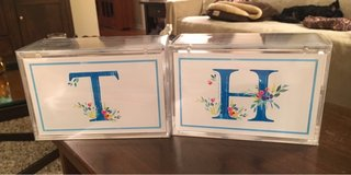 Monogrammed Acrylic Boxes in Bolingbrook, Illinois