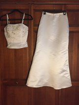 White two piece dress in Bartlett, Illinois