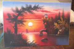 Oriental Hand painted picture in Fort Benning, Georgia