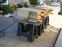 Wood, scrap for shelving or projects in Yucca Valley, California