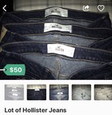 Lot of Hollister Jeans in Schaumburg, Illinois