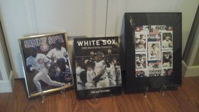 Chicago Cubs &White Sox's Framed Pictures & Book in Plainfield, Illinois
