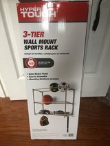 3-Tier Wall Mount Sports Rack or for Tools in Clarksville, Tennessee