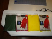 PVC Rain Ponchos - Brand NEW - Red, Yellow, Army Green - CHEAP!! in Brookfield, Wisconsin