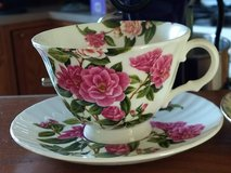 Beautiful Floral Tea Cup & Saucer in Plainfield, Illinois