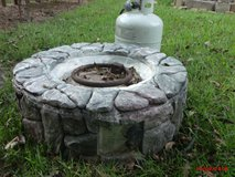 Fire Pit with Propane Tank   $95 obo   Adel in Moody AFB, Georgia