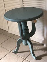 Robins Egg Blue Side Table in Naperville, Illinois