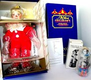 Porcelain Tommy the clown! Still in box never take out ! Has certificate of authenticity! in Plainfield, Illinois