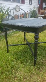side table with denim top in Kingwood, Texas