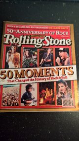 Rolling stone 50th Anniversary of Rock Issue 951 in Ramstein, Germany