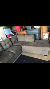 Gray Sectional in Fort Campbell, Kentucky