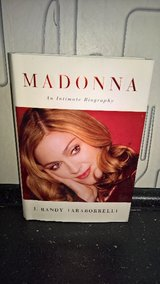 Madonna An Intimate Biography  Hard Cover Book in Ramstein, Germany