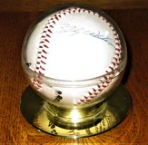 Autographed Baseball - Billy Williams, Andy Pafko, Bobby Thigpen , & ??? in Palatine, Illinois