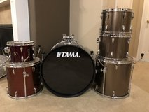 Tama Drum Kit - 7 piece in The Woodlands, Texas