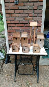 7 bird houses and feeder in Clarksville, Tennessee
