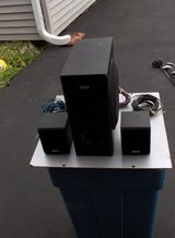 RCA3 PC. SUBWOOFER AND TWO REAR SPEAKERS in Chicago, Illinois