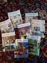 UK COUNTRY LIVING magazine BACK ISSUES in Ramstein, Germany