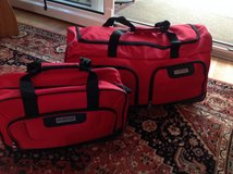 Suitcases - Rolling Duffle & Boarding Bag - New in Ramstein, Germany