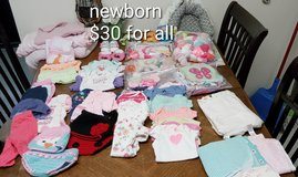 newborn baby clothes in Fort Riley, Kansas