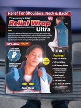Brand New back and neck massage and heating wrap in Manhattan, Kansas