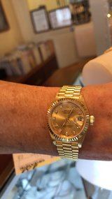 Ladies presidential Rolex watch in West Orange, New Jersey