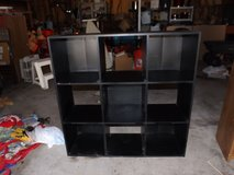Black 9 Shelf Cubbie Style Storage Init in Yorkville, Illinois