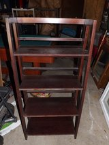 Folding 4 Shelf Book Shelf in Yorkville, Illinois