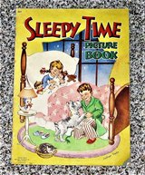 Vintage 1946 Sleepy Time Picture Book by Cathryn Taylor - 13 X 9 ½ in Palatine, Illinois