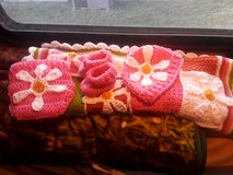 Newborn set: baby afghan, booties hat and diaper cover in Ruidoso, New Mexico