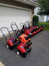 """Snowblowers. Sales and repair. $150 and up 16"""" To 26"""" 2-stage available in Glendale Heights, Illinois"""