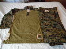 Buying Woodland Frog gear in Camp Pendleton, California