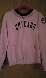 Pink Cubs hooded sweatshirt in Naperville, Illinois