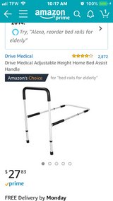 Adult adjustable bed rail in Alamogordo, New Mexico