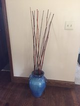 Porcelain Vase with Bamboo in Elgin, Illinois
