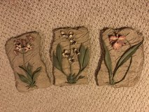 Floral Picture set plaques in Kingwood, Texas
