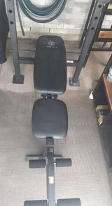 WEIGHT BENCH - LIKE NEW in Pasadena, Texas