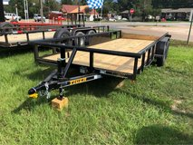New 18ft Pipe Top Utility Trailer in Leesville, Louisiana