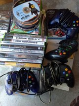 Microsoft xbox w/ 30 games in Yucca Valley, California