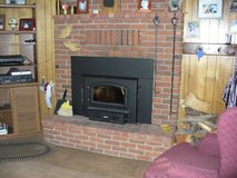 wood burning fireplace insert with pipe kit in Ruidoso, New Mexico